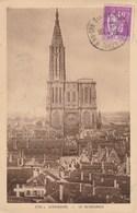 Dép. 67 - STRASBOURG. La Cathédrale. La Cigogne N° 2794 A (1936, Bistre) - Strasbourg