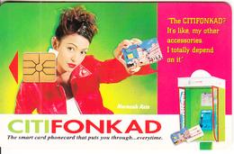 MALAYSIA - Narazah Aziz, CITIFON Telecard RM10, Used - Malaysia