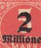 Inflation 1923, Mi. 312, Parties De Feuilles, 411 Timbres, 7 Vezes Die Selbe Abart: Büge In Dem 2 - Nuovi