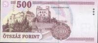 HONGRIE HUNGARY P188c  500 FORINT 2003    EB    UNC. - Ungarn