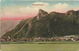 AK Oberammergau Ortsansicht Color 1910 #08 - Oberammergau