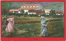AK Oberammergau Theater Frauen Feld Color ~1910/20 US-Produktion #28 - Theater
