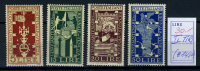 1949  Italia - Italy - - Catg. Sass. 594/97 - Mi. 767/70 -  Mint - MNH - 6. 1946-.. Repubblica