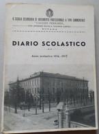 Diario Scolastico-anno Di Riferimento 1936-1937-Galileo Ferraris Di NOVARA - Libri, Riviste, Fumetti
