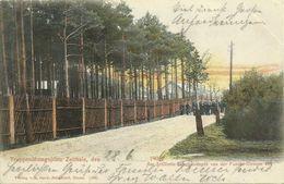 AK Zeithain Übungsplatz Scheibendepot Color 1906 #10 - Zeithain