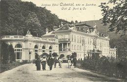 AK Wien Cobenzl Schloss Hotel C. Pertl 1913 #13 - Wien