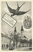 AK Wien Maria Lanzendorf Schwalbe ~1950 Zensur #08 - Wien