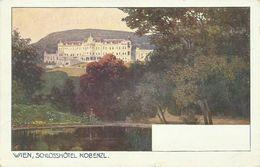 AK Wien Schlosshotel Kobenzl Künstler Color ~1910/20 #99 - Wien