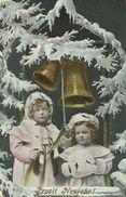 AK Neujahr New Year Mädchen Läuten Glocken Color 1908 #51 - Neujahr