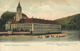 AK Kelheim Kloster Weltenburg Farblitho ~1900 #31 - Kelheim