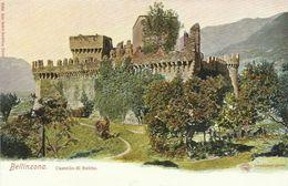 AK / CPA Bellinzona Castello Di Suitto Farblitho ~1905 #02 - TI Ticino