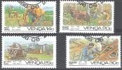 Venda Michel 142 - 145 O Cote (2002) 2.20 Euro Travail Forestière Cachet Rond - Venda