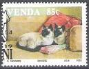 Venda 1993 Michel 252 O Cote (2002) 1.90 Euro Chat Siamois Cachet Rond - Venda