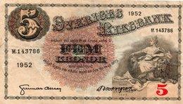 Sweden 5 Kronor 1961 About Uncirculated Grade - Sweden