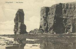AK Insel Helgoland Nordkap Fischerboot 1908 #19 - Helgoland