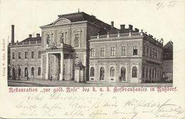 AK Wien XIX Nußdorf Restaurant Zur Gold. Rose 1900 #32 - Wien
