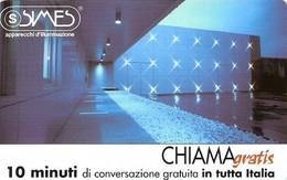 *CHIAMAGRATIS - N.808 - SIMES* - Scheda Usata (DT) - Italia