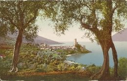 AK / CP Malcesine Gardasee Ortsansicht Color ~1910 #04 - Italy
