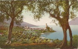 AK / CP Malcesine Gardasee Ortsansicht Color ~1910 #04 - Italia