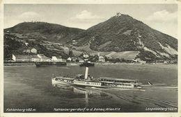 AK Wien XIX Kahlenbergerdorf & Schiff Wien 1934 #89 - Wien