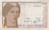 -  FRANCE - BILLETS - 300 F - 1938-1939 - LETTRE T - N° 0.278.815 - - 1871-1952 Antiguos Francos Circulantes En El XX Siglo