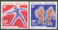 FRENCH POLYNESIE - SPORT - 1963. - Mi.28 / 9 - MNH ** - French Polynesia