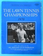 WIMBLEDON 1970. - The Lawn Tennis Championships Official Programme * Program Programm Programa Programma Tenis - Boeken