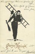 AK Neujahr Schornsteinfeger Kaminkehrer 1901 #103 - Neujahr