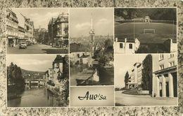AK Aue Erzgebirge 5 Bilder Stadion ~1975 #19 - Aue