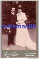 Photo - Jeune Mariée - Photographe Leconte Lorot 24, Avenue Dauphine à Orléans - Format 16.4 X 10.7 Cm - Photographs