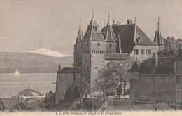 SUISSE - VAUD - Château De Nyon Et Mont Blanc. Jullien Frères. N° 5743 - VD Vaud
