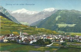 AK Sterzing Vipiteno Südtirol Kreuzspitze Color ~1910 #02 - Vipiteno