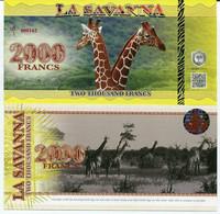West African States 2000 Francs P-716K 2003 (2009) UNC - Senegal