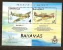Bahamas 1990 Yvertn° Bloc 59 *** MNH Cote 16 Euro Avions Vliegtuigen Airplanes - Bahamas (1973-...)