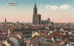 Dép. 67 - Strassburg I. E. - Gesamtansicht. Carte Allemande. Félix Luib N° 2/92018 - Strasbourg