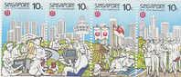 Singapore-1986 Trade Unions  MNH - Singapore (1959-...)