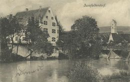 AK Riedlingen OT Zwiefaltendorf Schloss Ortsansicht 1906 #07 - Biberach