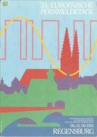 AK Regensburg Europ. Fernmeldetage Color 1985 SST #0416 - Regensburg