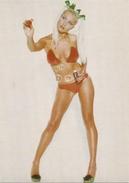 AK Pinup-Girl Im Bikini Mit Seifenblasen Color Modern #2272 - Pin-Ups