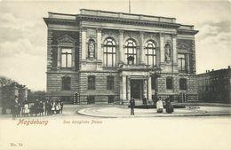 AK Magdeburg Königliches Palais ~1900 #46 - Magdeburg