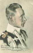 AK Monarchie Kronprinz Friedrich Wilhelm Preußen Farblitho 1915 #03 - Familles Royales