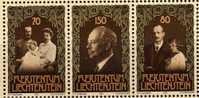 Liechtenstein 1981 Familie Des Fürsten 770/2 Plus Block 11 ** 10€ Zum 75.Geburtstag Franz Josef II.hb Ms Sheet Bf Europa - Liechtenstein