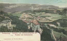 AK Semmering Waldhof & Südbahnhotel Color ~1900 #01 - Semmering