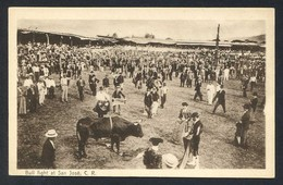 San José. *Bull Fight At San José* Ed. M. Gomez Miralles. Nueva. - Costa Rica