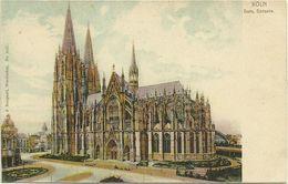 AK Köln Dom Südseite Farblitho ~1900 #57 - Köln
