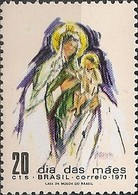 BRAZIL - MOTHER'S DAY 1971 - MNH - Muttertag