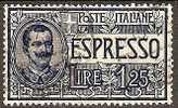 (lp) 1926 Italia Italie Y&T 12 Expres Unif E12 - Vittorio Emanuele III - 1900-44 Victor Emmanuel III