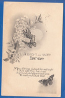 Fantaisie; Tuck´s Postcards; Coloured Crayon No. 333; Birthday - Tuck, Raphael