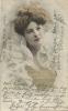 AK Frau Mode Kleidung Frisur Farblitho 1904 #107 - Women