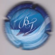 Capsule Champagne BENARD_THERY ( 7 ; Fond Bleu ) 5€ {S30-20} - Champagne